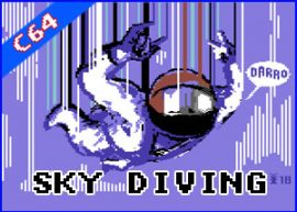Presentación Sky Diving commodore 64