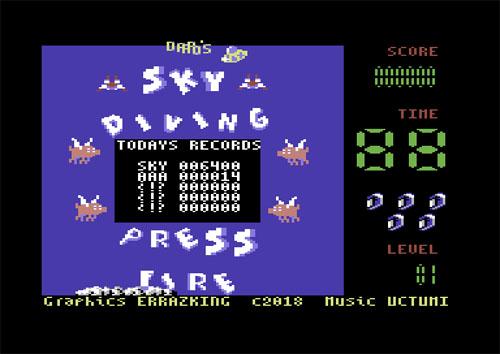 Sky Diving C64 (1)