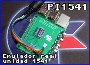 Presentación pi1541 para raspberry pi commodore 64