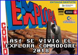 Presentación explora commodore 2018