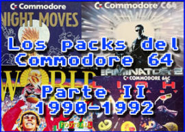 Presentación packs commodore 1990 – 1992