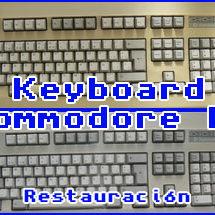 Presentación teclado commodore pc – restauración