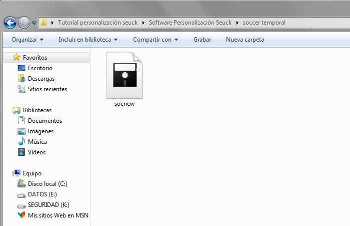 Dirmaster Seuck exportar archivos – 4
