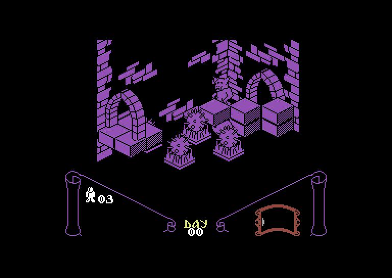 Knight Lore – C64 (1)