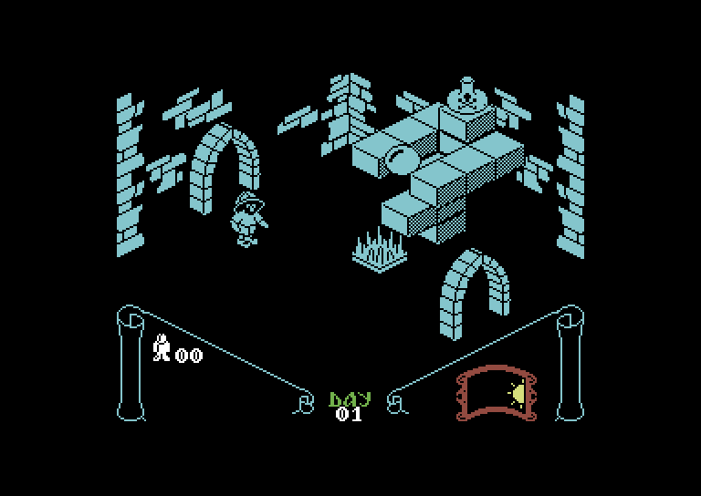 Knight Lore – C64 (3)