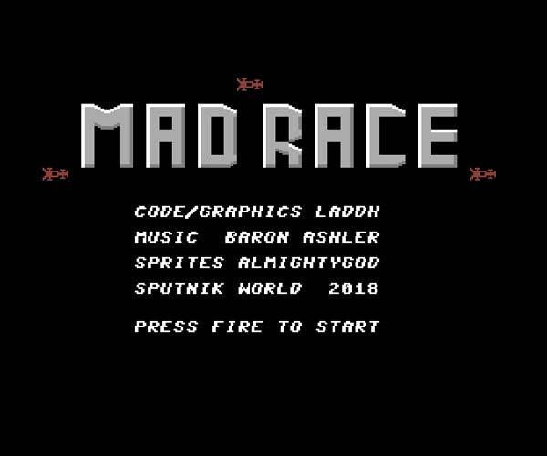 Mad Race – Commodore 64 – Sputnik World (2)