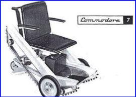 Presentación silla rueda commodore