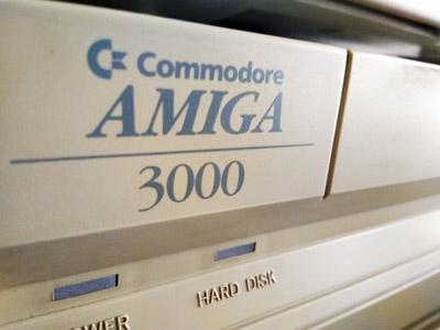 Nuevo proyecto. Recuperación Commodore Amiga 3000 #Commodore Spain