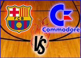 Presentación Commodore vs Barcelona