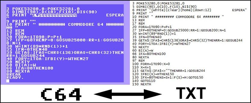 Cómo pasar listados de Basic a Txt (texto) y viceversa en Commodore 64 #Commodore Spain