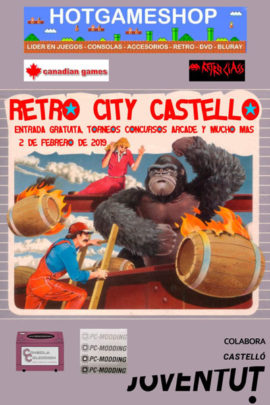 Retro city castellon