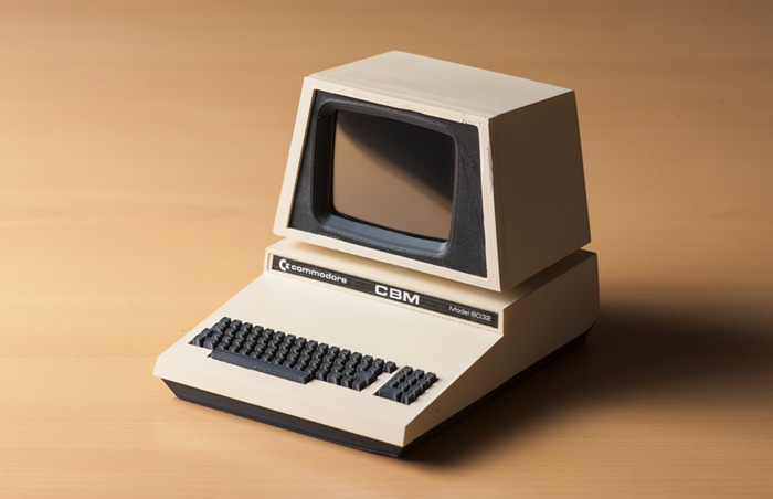 El Commodore Pet Mini #Commodore Spain