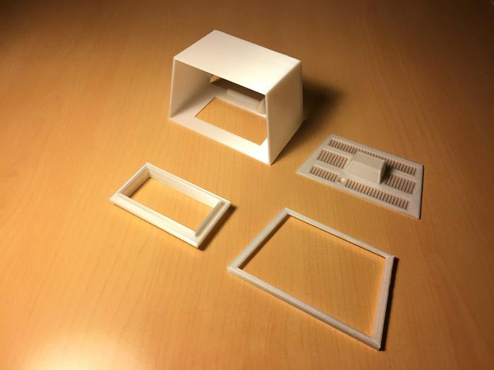 Impresión 3d commodore pet mini – 01