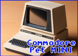 Presentación commodore pet mini