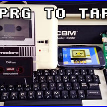 Presentación prg to tap commodore pet