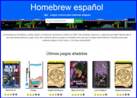 presentacion loveretro homebrew español