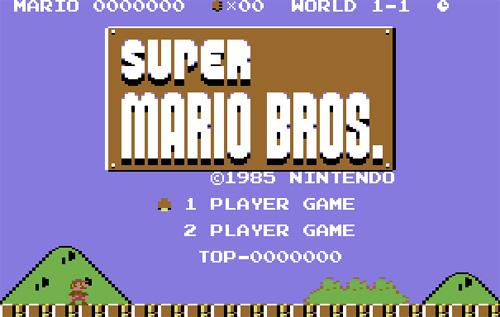 Super Mario Bros para Commodore 64 | Commodore Spain