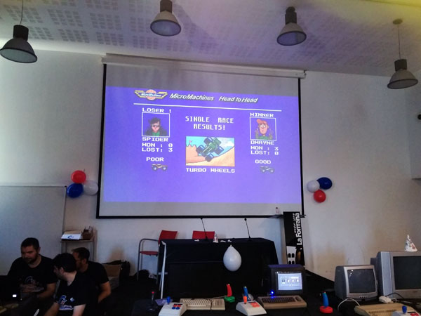 Torneo micro machines
