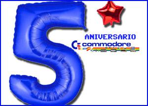 presentacion 5 aniversario commodore spain