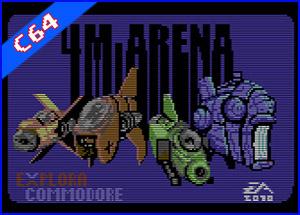 presetación juego 4m arena C64