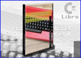 Presentación libro programacion retro commodore 64 vol 2