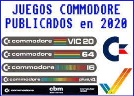 Presentación listado juegos commodore 2020