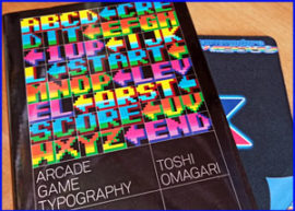 Presentación arcade game typography