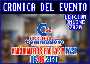 Presentación edicion online explora commodore 2020